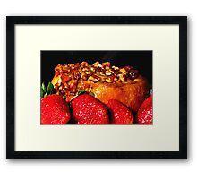Let's Do Brunch! Framed Print