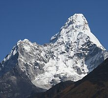 Ama Dablam by Jan Vinclair