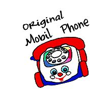 Original Mobil Phone by D R Moore