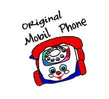 Original Mobil Phone by D R Moore