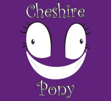 Cheshire Pony with text by Kuzcorish
