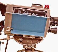 Retro Television Studio Camera by Edward Fielding