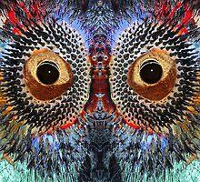 Alein Eyes by MikeMcHaney