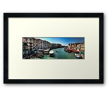 For Guendalyn, hope you make it there soon. Framed Print