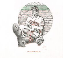 SATCHEL PAIGE by Marty  Parker