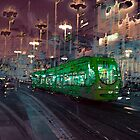 The Essence of Croatia - Zagreb Night Tram by Igor Shrayer