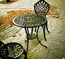Cafe Patio for two 01 by mdkgraphics