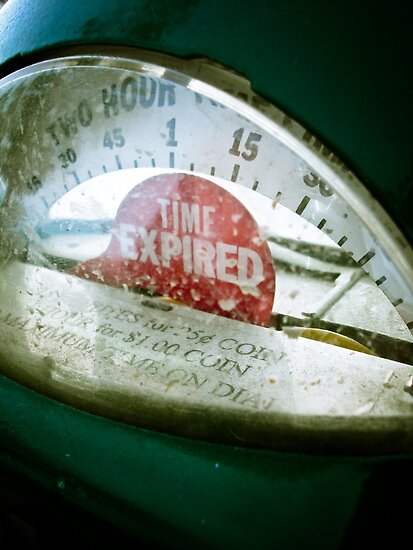 Retro Parking Meter 02 by mdkgraphics