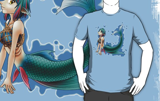 Pollux Mermaid (Plain) by EclipsedSoul