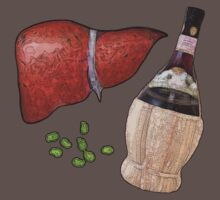 liver, fava beans, and a nice chianti by MontiFoxPhoto
