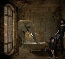 The Elephant in the Room... by Karen  Helgesen