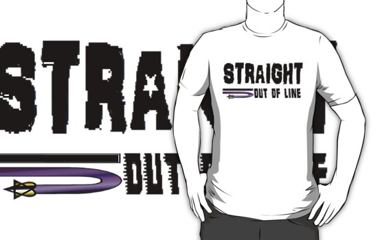 STRAIGHT OUT OF LINE - OFFICIAL by ScreamBlinkLove