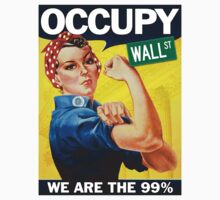 Occupy Wall Street Rosie by midniteoil