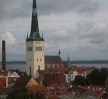 Oleviste kirik, Tallinn by Mark Prior