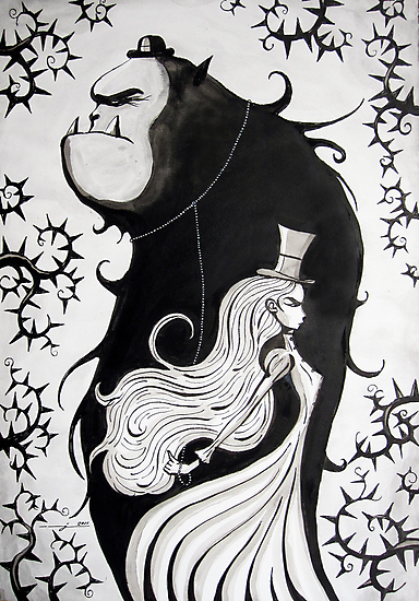 Mr. and Mrs. Beast by Joozu
