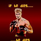 Ivan Drago iPhone 4/4S case by Vagelis Georgariou
