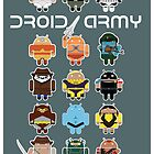 DroidArmy: Maclac Squadron (on your wall!) by maclac