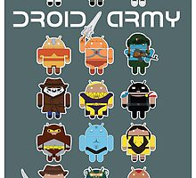 DroidArmy: Maclac Squadron (on your wall!) by Malc Foy