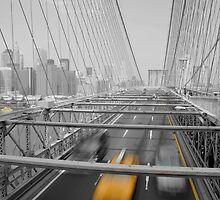 Yellow on Brooklyn by GRoyer