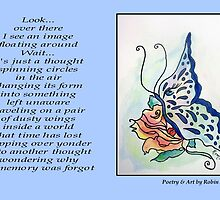 Poetry in Art - Just a Thought by Robin Monroe