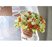 Multi-coloured bouquet 1. Photographic Print