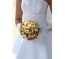 Multi-coloured bouquet 2. Photographic Print