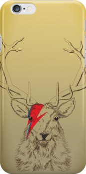 DeerSane - iPhone case by D4N13L