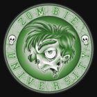 Zombie U Alumni Toxic Green Shirt  by Kyle Gentry