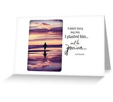 July 2012 - Lost For Words Greeting Card