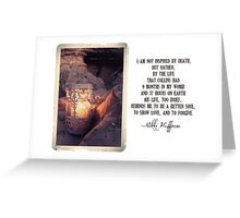 October 2012 - Lost For Words Greeting Card
