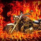 Triumph In Flames ( For My Bro's Hovis & Ed) by Don Alexander Lumsden (Echo7)