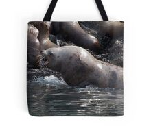 Bull Moose Sea Lion, Juneau, Alaska Tote Bag