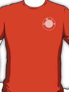 UNIT Retro White Small Logo T-Shirt