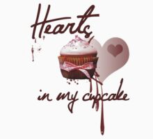Hearts in my cupcake by Amberdreams