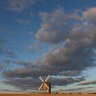 Tiny mill huge sky by yampy