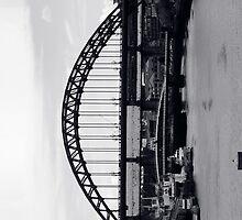 Tyne Bridge iPhone Case by DaveScoffin