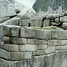 Images Of Peru - Machu Picchu (Inca Stone Work 4) by Rebel Kreklow