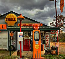 Americana at It's Best- SHELL Gasoline by Sevastra