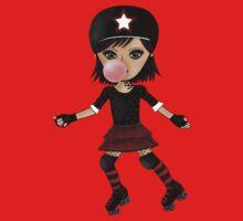 Roller Derby Girl by Kristy Spring-Brown