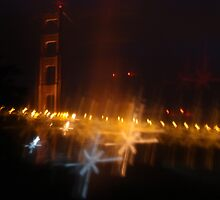 The Shimmering Golden Gate by LiamPark