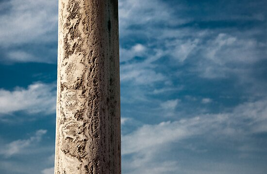 Column, Rome by Dean Bailey