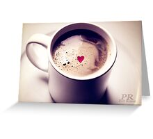 Forever: Time it takes to brew the first pot of coffee in the morning Greeting Card