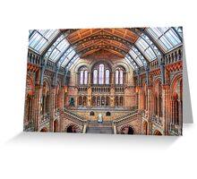 Natural History Museum - HDR Greeting Card