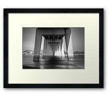 No Trolls here either. Framed Print