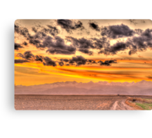 Visions Of Sunset Canvas Print