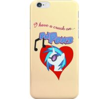 I have a crush on... DJ Pon3 - with text iPhone Case/Skin