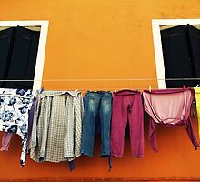 Another Laundry Day by Caroline Fournier