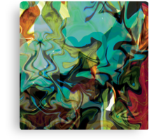 """""""Beyond The Barriers"""" Panel One in Triptych Canvas Print"""