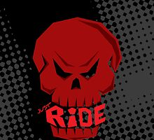 Red Skull: JUST RIDE by creativeburn