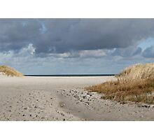 Sand, Water, Sky - Baltic Sea Photographic Print
